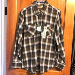 Other - NWT Outdoor Life Plaid Flannel Shirt